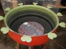 como hacer macetas con llantas recicladas paso a paso como hacer macetas con llantas recicladas old tires projects