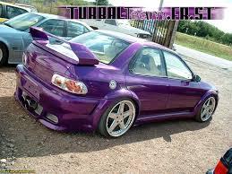 purple subaru impreza the total tuning subaru impreza