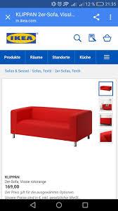 klippan sofa bezug gebraucht ikea klippan sofa bezug rot in 26529 rechtsupweg um