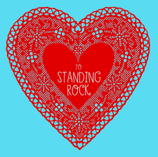 Portland On Map to standing rock with love from pdx at 522 n thompson in portland