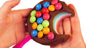 play doh rainbow skittles popsicle creative diy ice cream fun