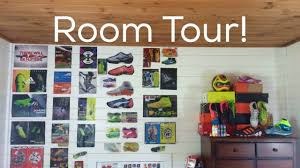 my soccer room tour youtube