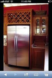 wine rack cabinet over refrigerator wine rack built wine rack above refrigerator built in wine rack
