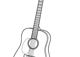 large guitar coloring page electric guitar coloring page large size of guitar coloring pages