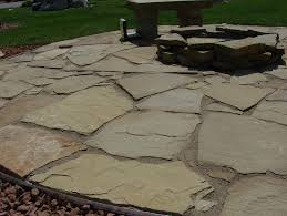 How To Lay Flagstone Patio How To Install Flagstone Patio Over Grass Home Design Ideas