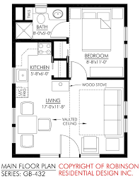 Layout Of Floor Plan Nice Tiny House I Really Like The Layout Of This Especially The