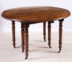 Th Century Flemish Oak GateLeg Dining Table With Center Leaf At - Gateleg kitchen table