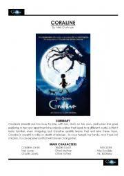 coraline teaching worksheets library related and teaching
