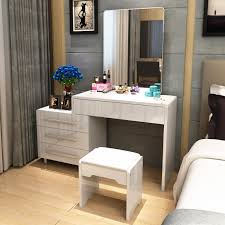 mod鑞e dressing chambre dresser bedroom modern simple small apartment mini dressing table