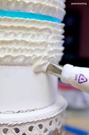 buttercream ruffles cake tutorial cakes pinterest ruffle