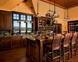 dark wood kitchen island houzz
