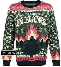 Meme Christmas Sweater - sweater stains a very in flames christmas the toilet ov hell