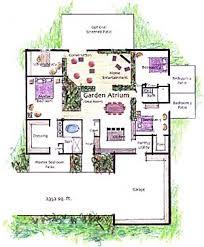 house plans atrium homes home plan