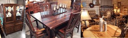 Amish Dining Tables Amish Custom Furniture And Accents Amish Dining Room Furniture