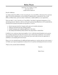 best loan officer cover letter examples livecareer