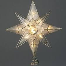 christmas tree lights amazon uk 10 lighted double four point capiz star christmas tree topper