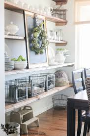 Cottage Dining Room Ideas by 25 Best Dining Room Shelves Ideas On Pinterest Dining Room