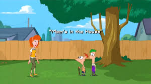 image mom u0027s in the house title card jpg phineas and ferb wiki