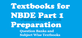 books for nbde part 1 subject wise and question banks