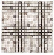 Marble Mosaic Tile Mocha Milan Mocha Marble Mosaic Tile L 300mm W 300mm