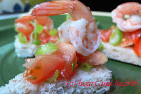 canapes m and hearth seafood canapes a blogosphere