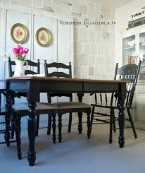 Black Farmhouse Table French Country Farmhouse Dining French Country Home Decor Party