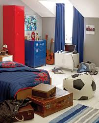 modern boys room with red blue color scheme dweef com bright