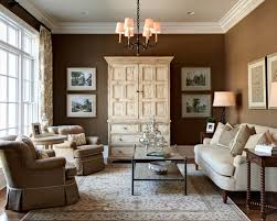 brown livingroom chic brown and beige living room for your home design ideas with