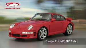 ruf porsche 911 ck modelcars video porsche 911 993 ruf turbo gt spirit youtube