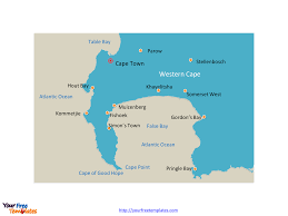The World Map Labeled by Free Cape Of Good Hope Editable Map Free Powerpoint Templates