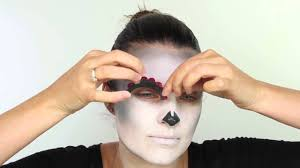 halloween face decals ad how to create a quick u0026 easy halloween look with pixiwoo