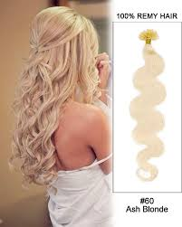 hairstyles with body wave hairnfor 60 16 60 ash blonde body wave nail tip u tip 100 remy hair keratin