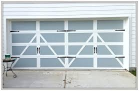 garage doors garage door makeover from my front porch to yours