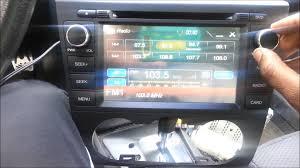 nissan altima 2005 radio fuse install in dash 2009 nissan altima dash touch screen youtube
