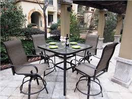 patio high patio dining set barcamp medellin interior ideas