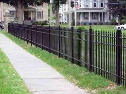 black aluminum privacy fence home u0026 gardens geek