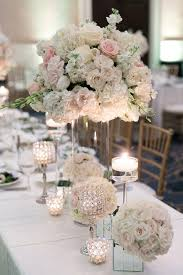 wedding floral arrangements black tie wedding with touches of blush the magazine