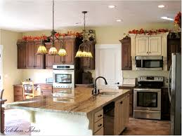 Kitchen Bakers Rack Cabinets Kitchen Cabinets 35 Kitchen Colors For Dark Wood Cabinets Dark