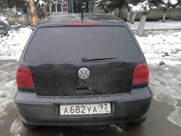 volkswagen polo 2001 volkswagen polo 2001 1 4 литра всем добрый день тип кузова