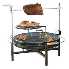 Cowboy Firepit Cowboy Charcoal Grill And Smoker Fireplaces Firepits