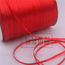 silk ribbon 2018 3mm ribbon for gift packaging silk ribbon for hangtag
