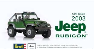 jeep wrangler models list revell jeep wrangler 2003 rubicon large scale kit youtube