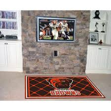 amazon com nfl cleveland browns 5 x 8 rug office products