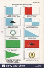 Army Signal Flags Argentina Army Flags Officer Commanding Army Cavalry Armoured