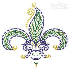 mardi gras embroidery designs mardi gras jester fleur de lis embroidery design