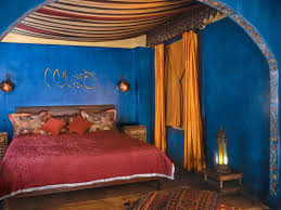 Moroccan Style Curtains Bedroom Pretty Simple Moroccan Bedroom Design Ideas With