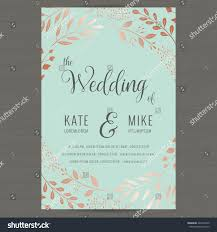 Wedding Invitation Card Templates Save Date Wedding Invitation Card Template Stock Vector 426272959