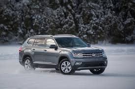 the atlas and golf alltrack get their winter pass with 4motion