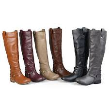 buy boots wide calf journee collection womens wide and wide calf boots ebay