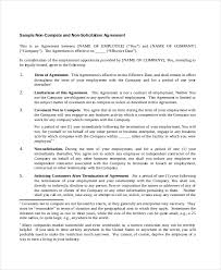 Breach Of Employment Contract Letter Sle sle business contract between two companies non disclosure